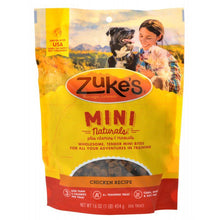 Load image into Gallery viewer, Zukes Mini Naturals Dog Treat - Roasted Chicken Recipe