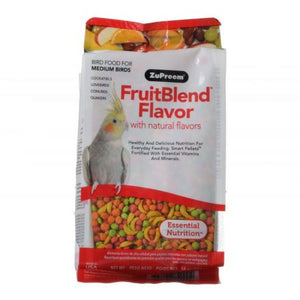 ZuPreem FruitBlend Flavor Bird Food for Medium Birds - PetStoreNMore