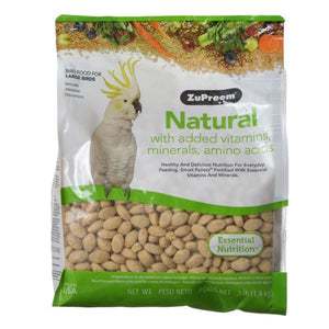 ZuPreem Natural Blend Bird Food - Large Parrot - PetStoreNMore