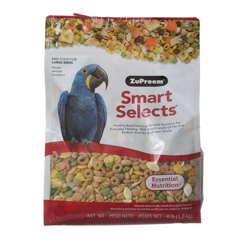 ZuPreem Smart Selects Bird Food for Large Birds
