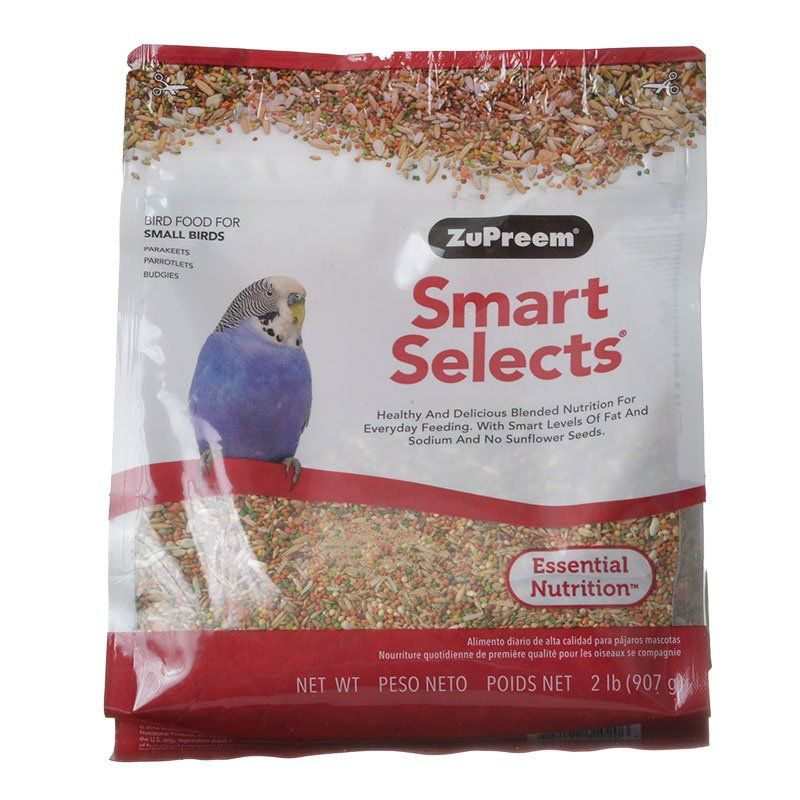 ZuPreem Smart Selects Bird Food for Small Birds 2 lbs - PetStoreNMore