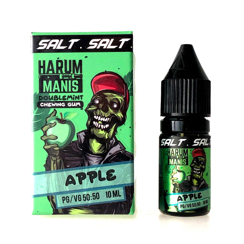Harum Manis Salt - Doublemint Chewing Gum - Apple - 10ml