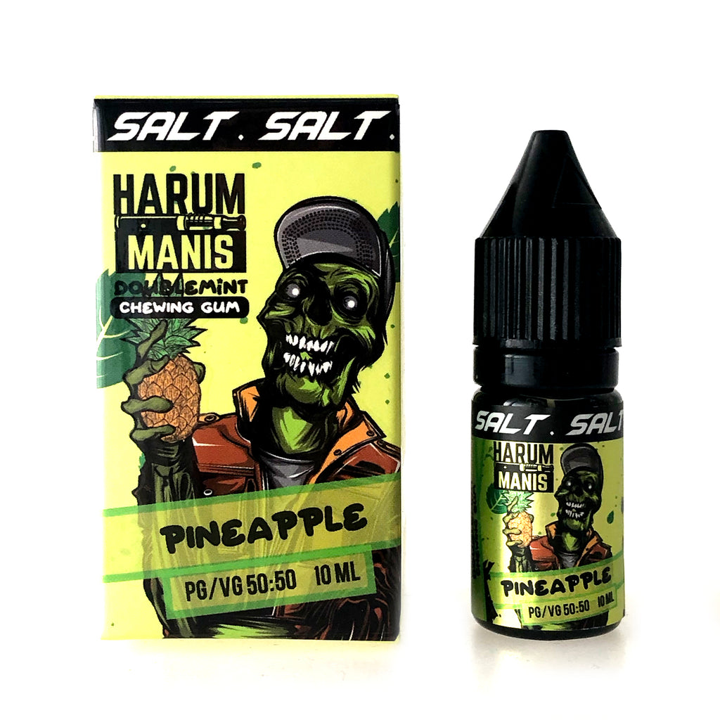 Harum Manis Salt - Doublemint Chewing Gum - Pineapple - 10ml