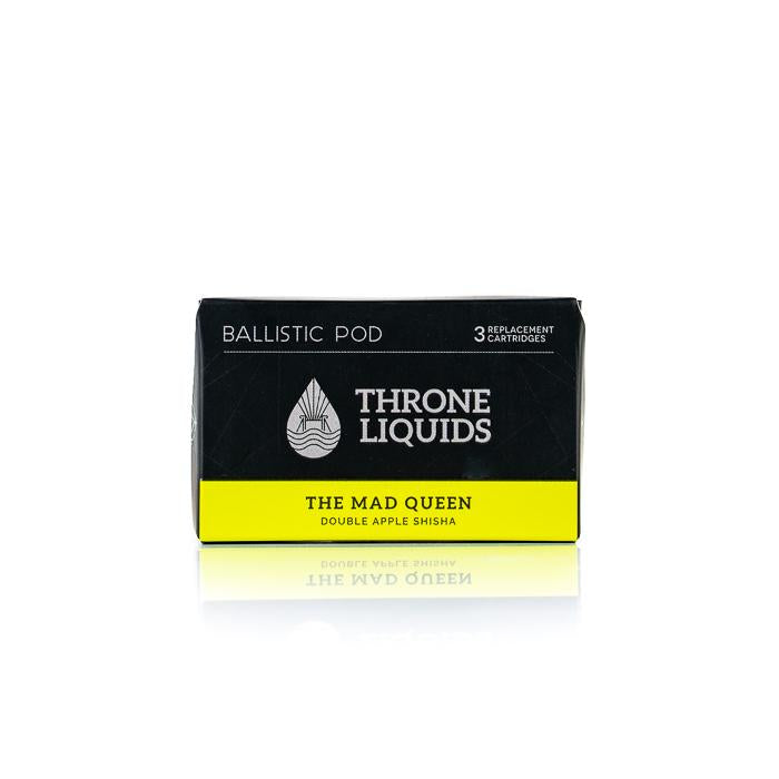 Ballistic Pod - Throne Liquids - The Mad Queen