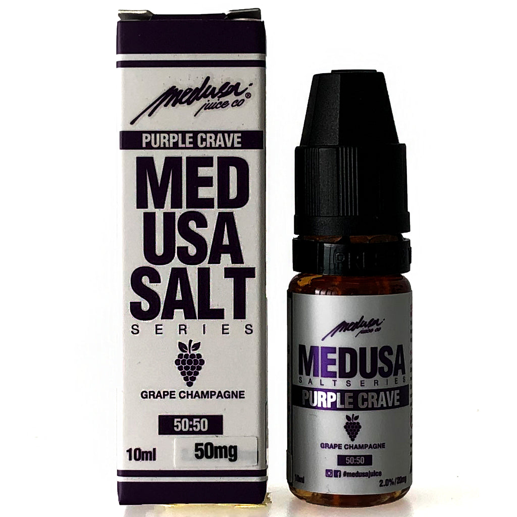 Medusa Salt - Purple Crave - 10ml