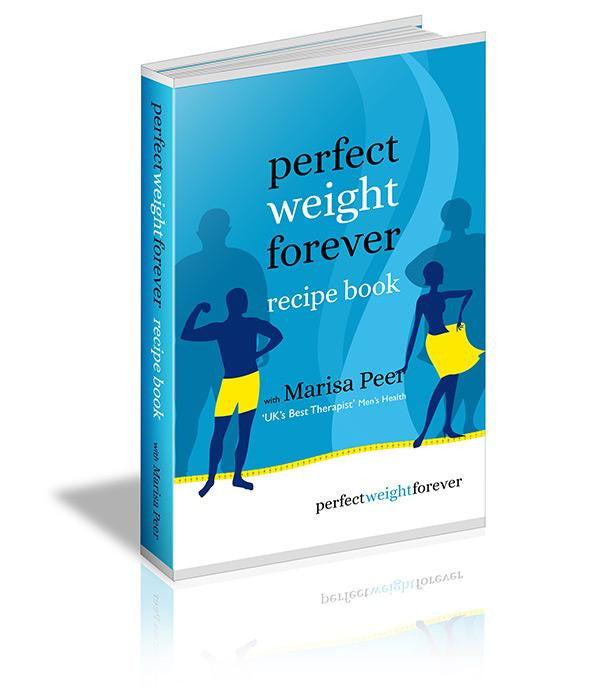 Perfect Weight Forever Recipe Book - Marisa Peer Audio Course & Video Store