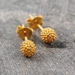 Sycamore Rose Gold Stud Earrings
