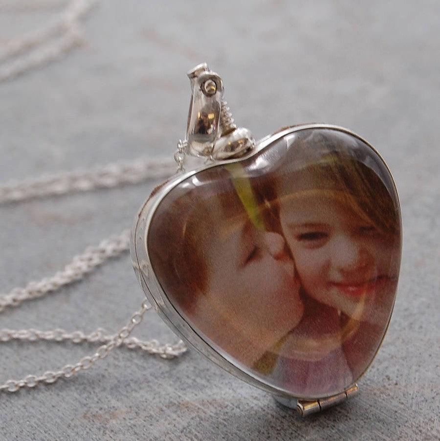 Vintage Silver Heart Locket