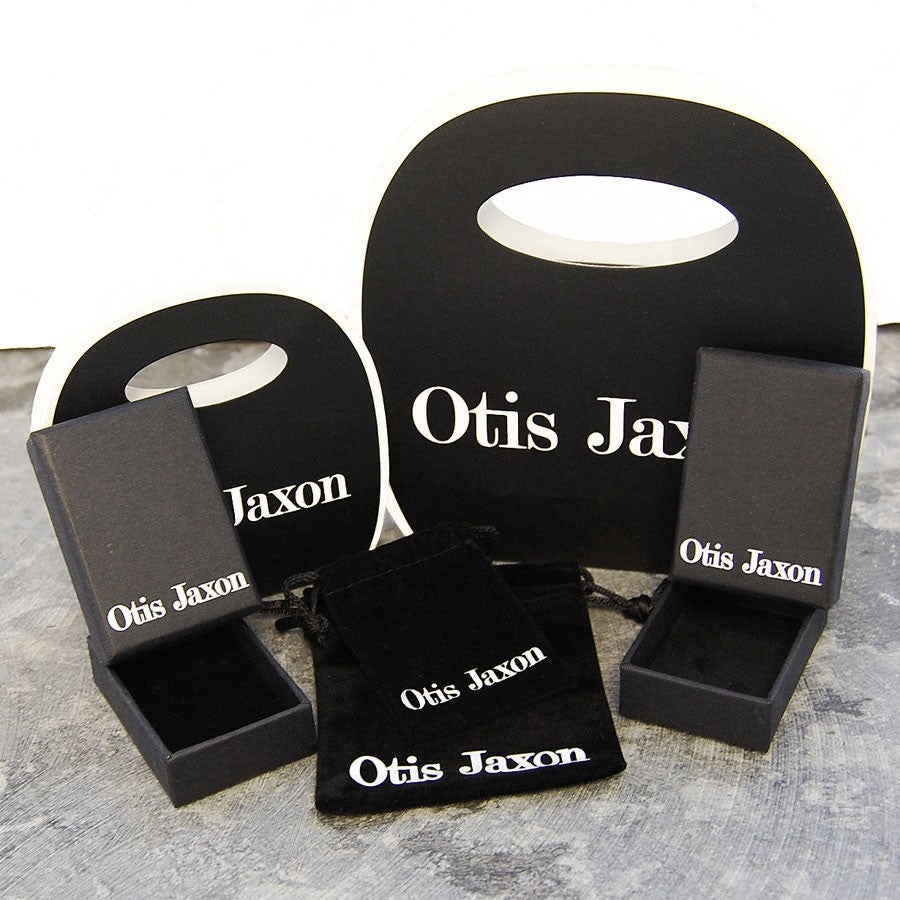 Square Silver Ear Cuffs - Otis Jaxon Silver Jewellery