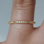 Gold and Rose Gold Eternity Ring - Otis Jaxon Silver Jewellery