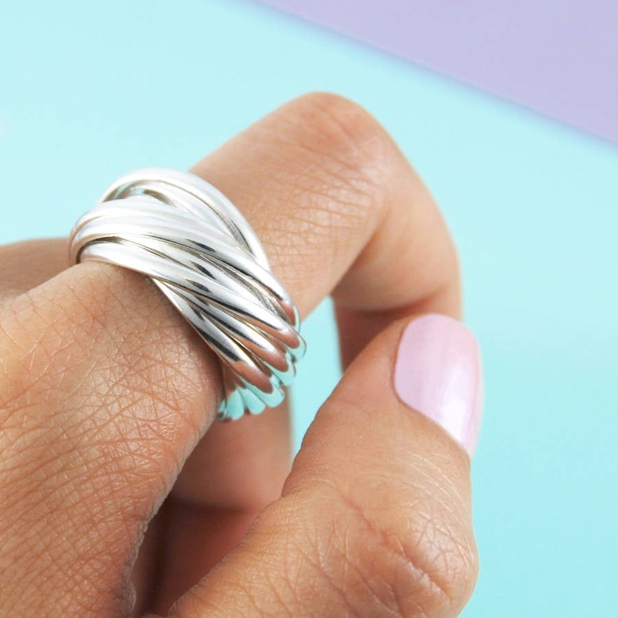 Chunky Russian Silver Ring