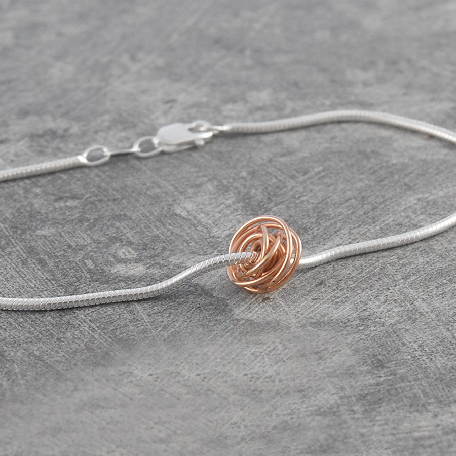 Nest Designer Rose Gold Bracelet