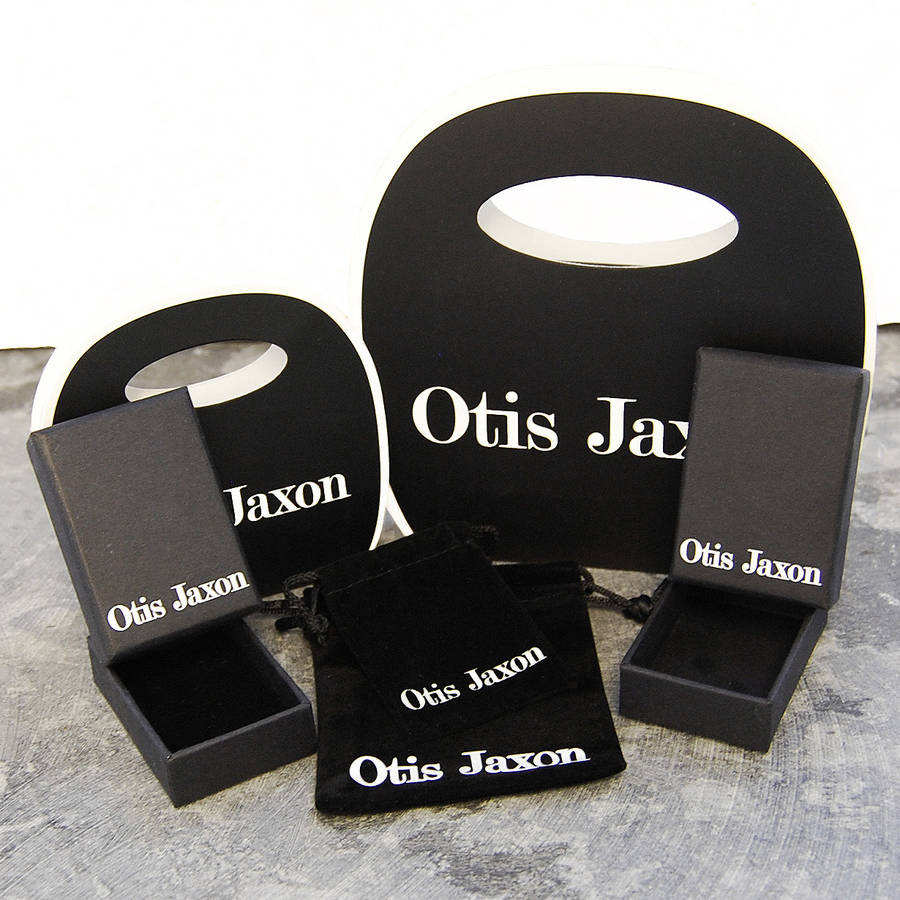 Sterling Silver Square Tapered Bangle - Otis Jaxon Silver Jewellery