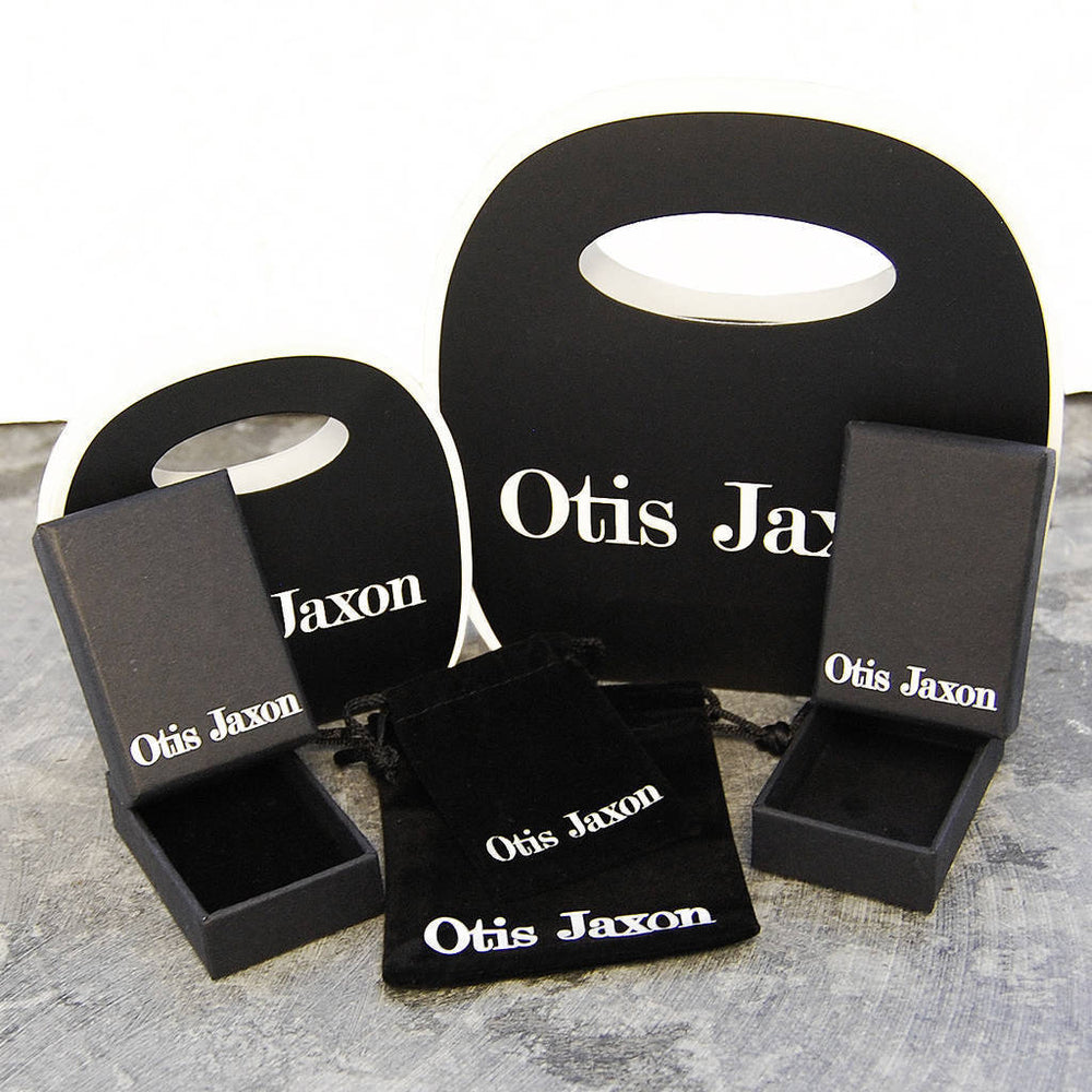 Solid Silver Screw Accent Rings - Otis Jaxon Silver Jewellery