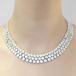Scales Chunky Silver Necklace - Otis Jaxon Silver Jewellery