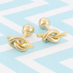 Gold Nautical Knot Cufflinks