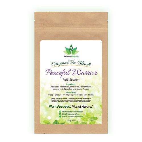 Peaceful Warrior -  PMS Support Tea Blend by Wellness Naturally