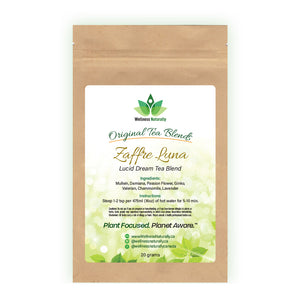 Zaffre Luna - Lucid Dream Tea Blend by Wellness Naturally