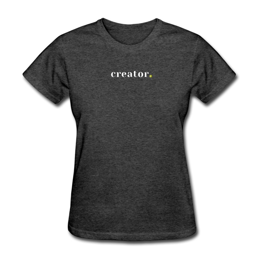 Creator Women's T-Shirt - heather black