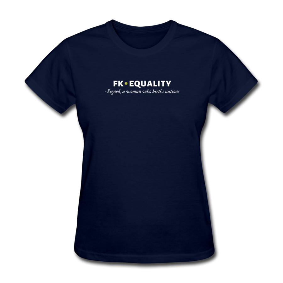 Fk Equality Women's T-Shirt - navy