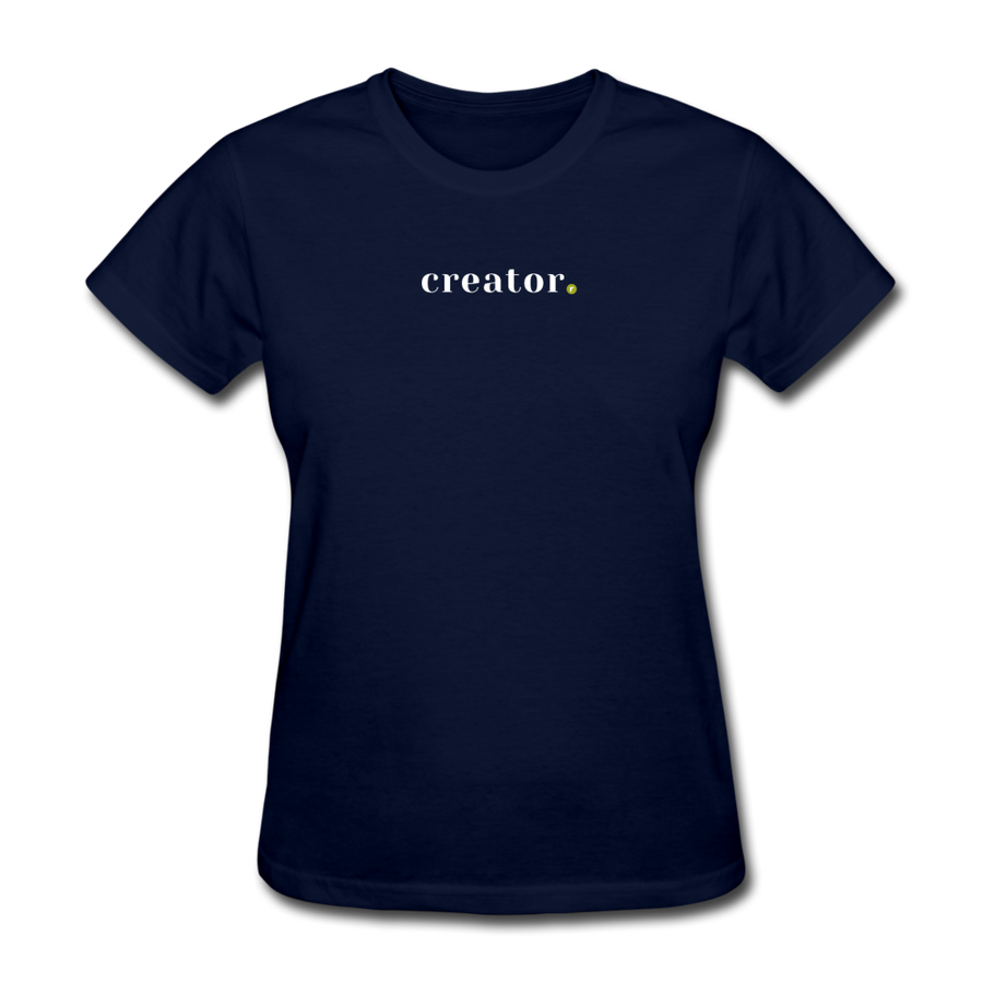 Creator Women's T-Shirt - navy