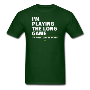 I'm playing the long game Men's T-Shirt - forest green