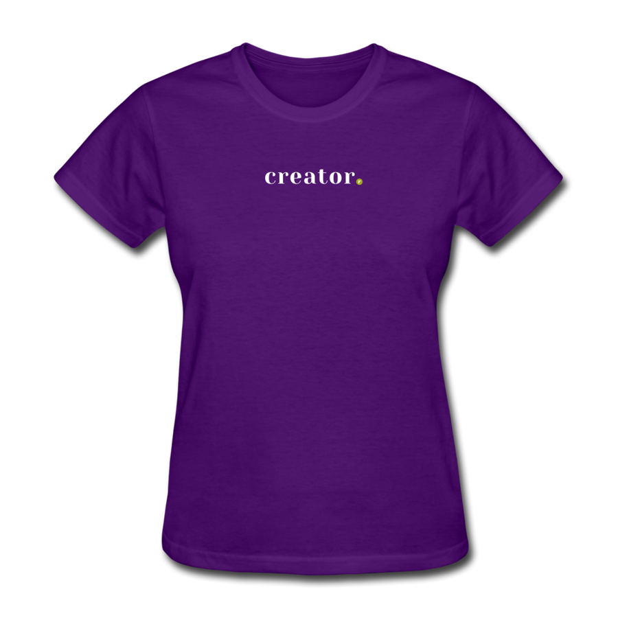 Creator Women's T-Shirt - purple