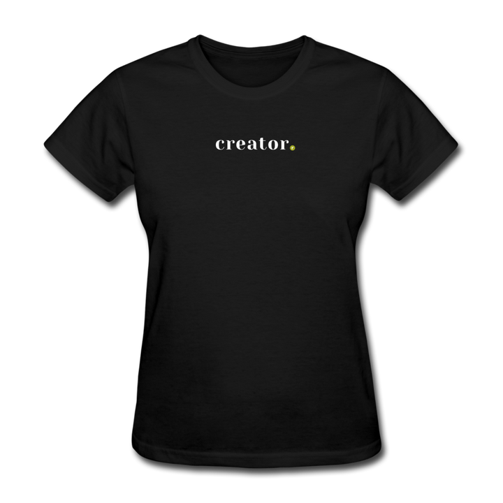 Creator Women's T-Shirt - black