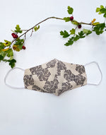 hand block printed face masks