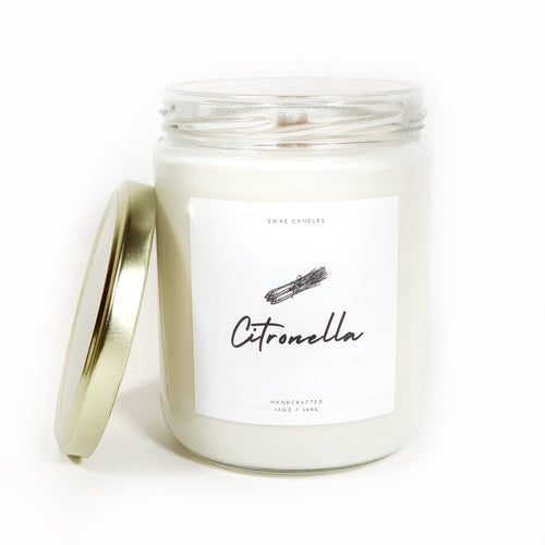 Citronella Candle - Swae Candles