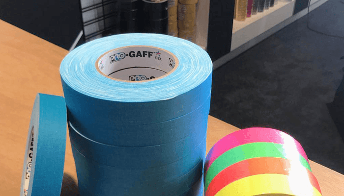 New Fluorescent Blue & Pro Spike Stack Tape