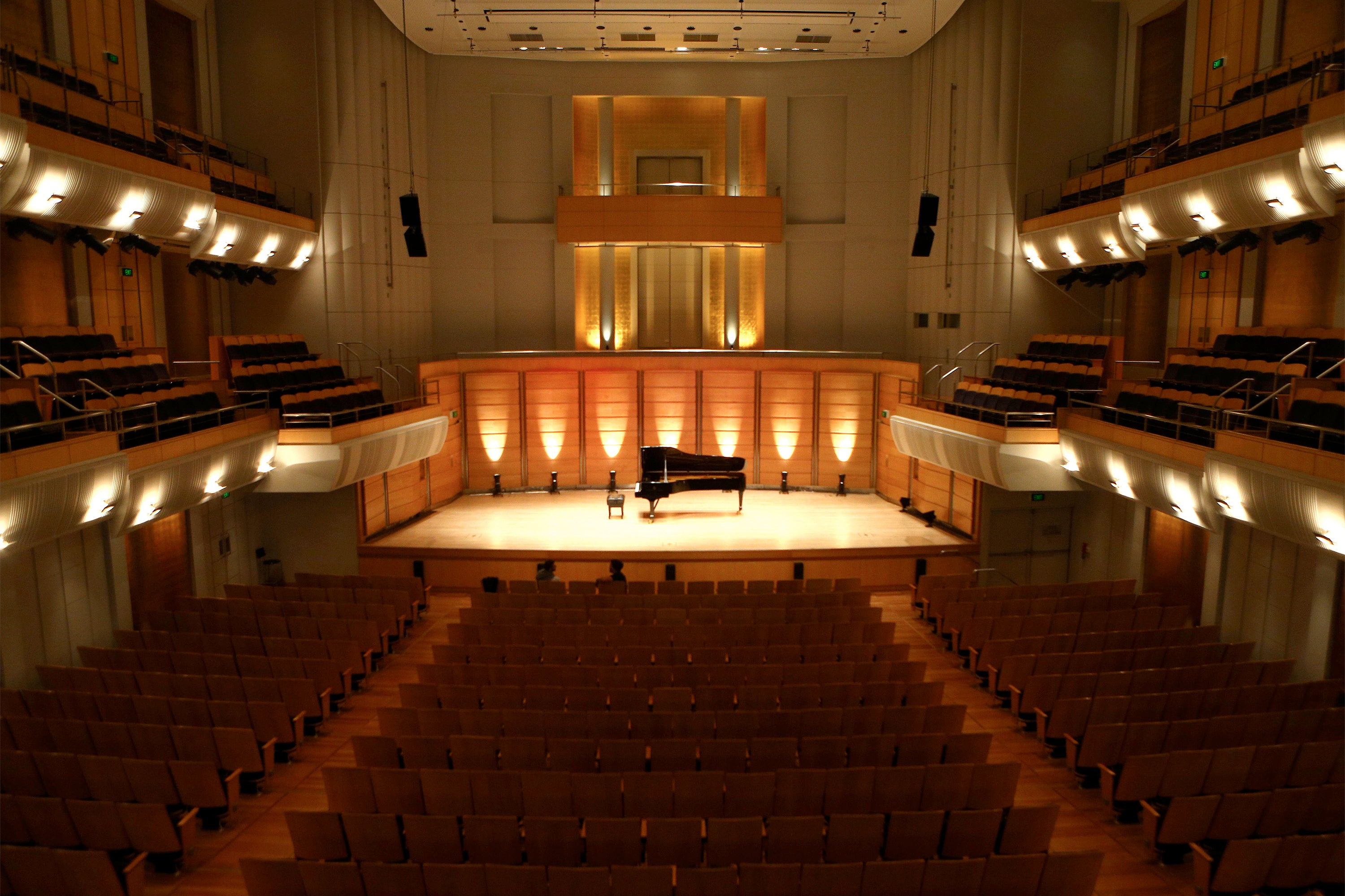 ARRI LED upgrade and replacement of existing 2K Fresnels at City Recital Hall