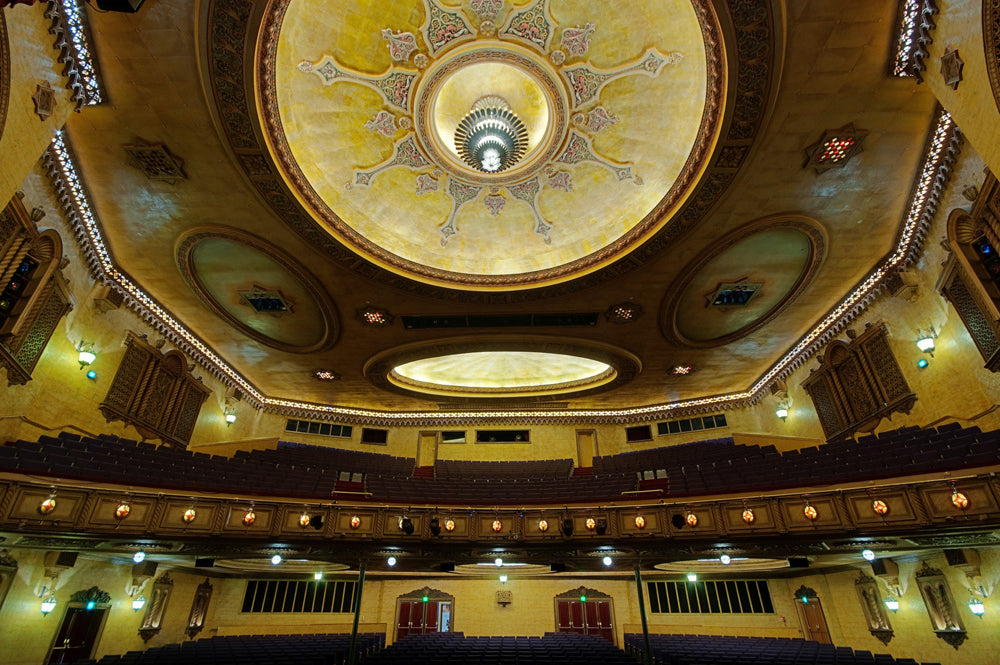 Ceiling at Newcastle's Civic Theatre