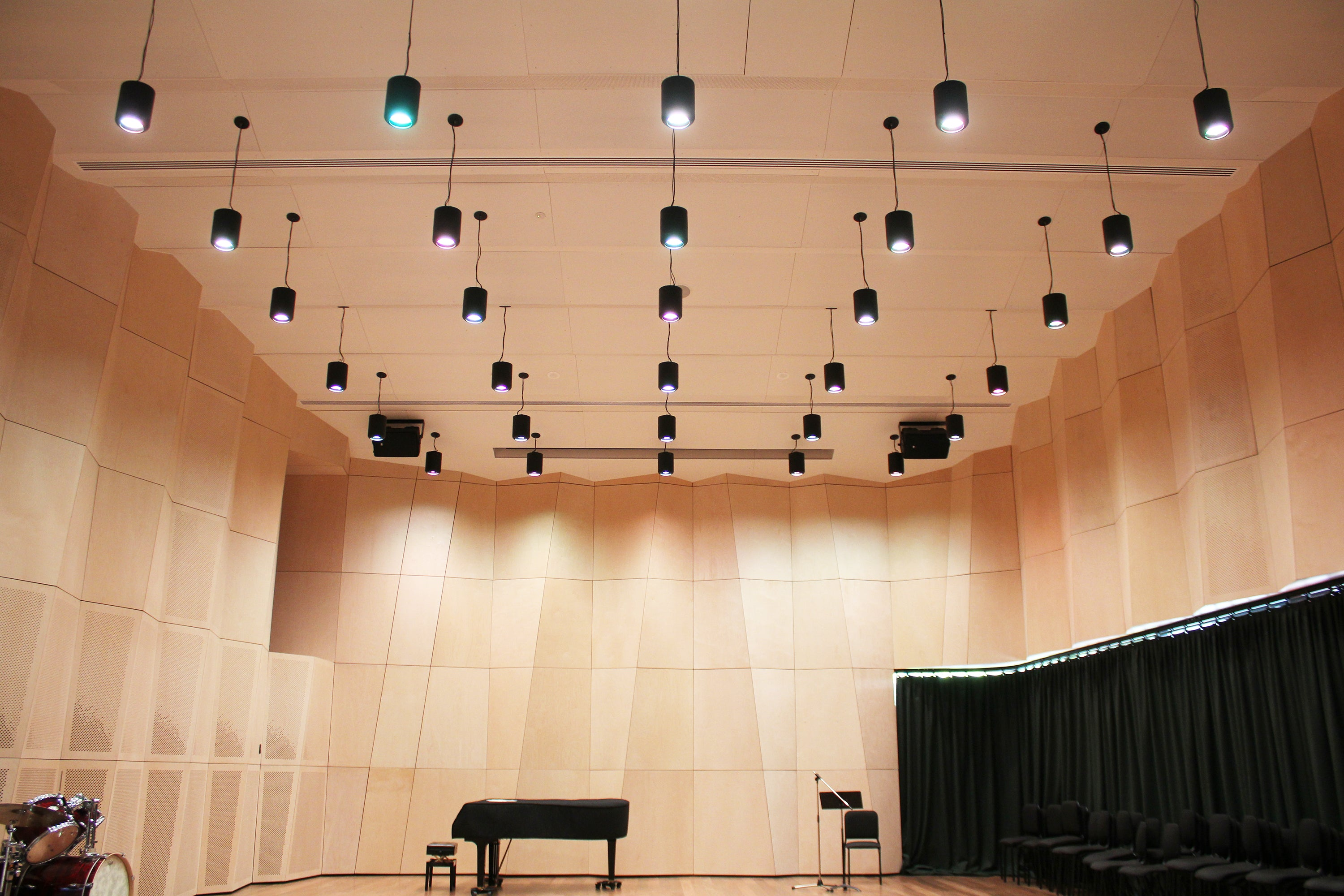 Music School orchestral rehearsal and recital room