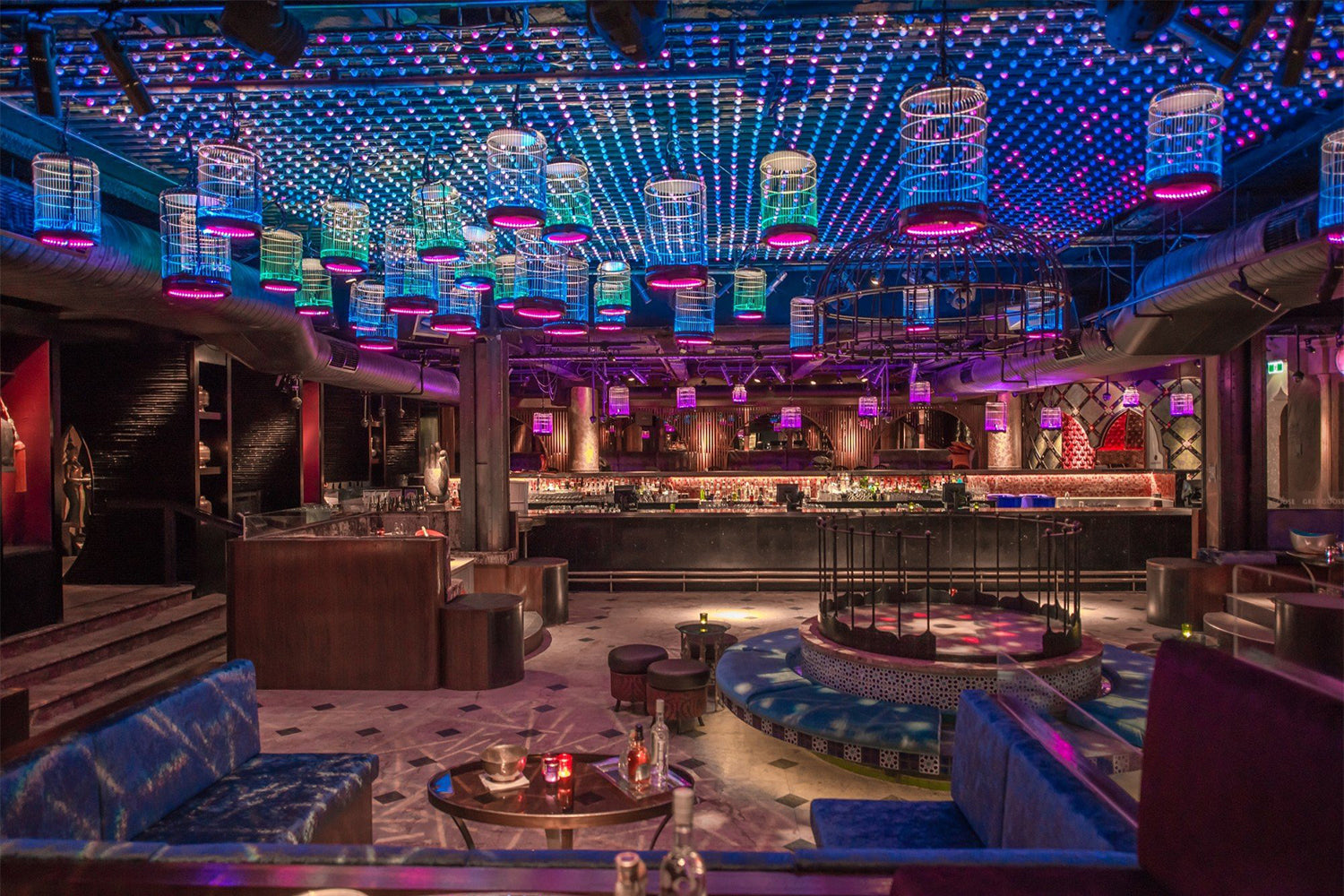 Supply of specialist lighting for nightclub & Bar fitout