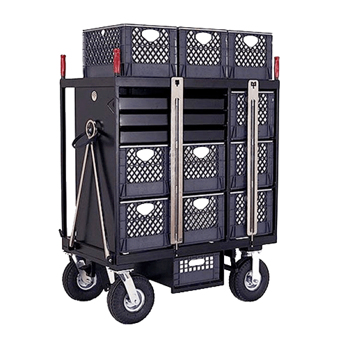 Backstage 7 Crate Set Box Cart