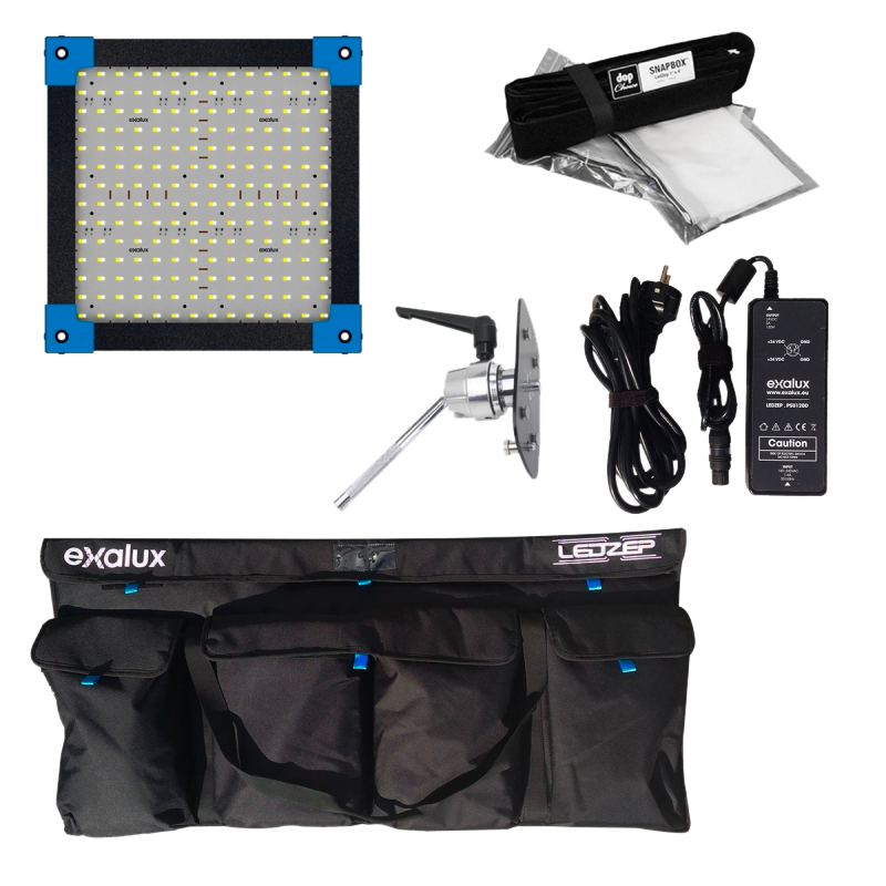 Exalux LEDZEP 1x1 LED Panel Kit