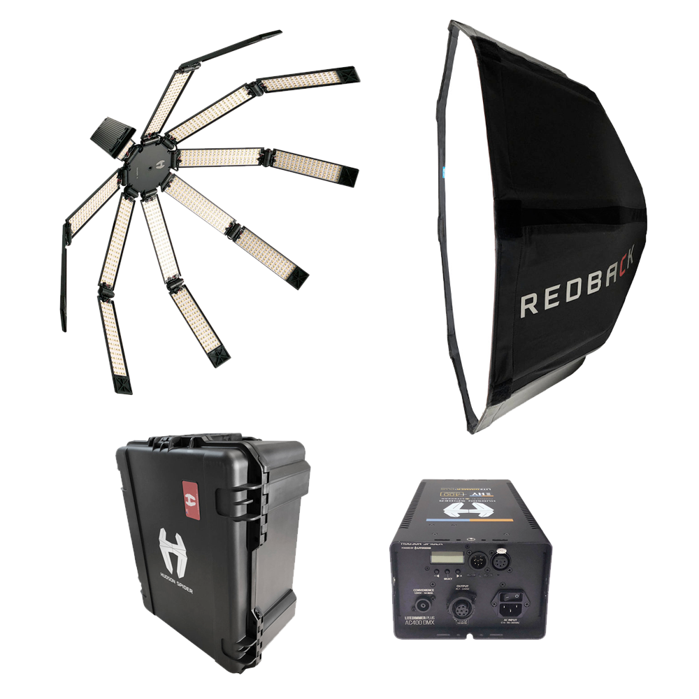 Hudson Spider Redback Collapsible LED Soft Light Basic kit