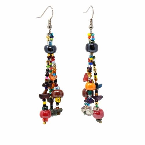 Beach Ball Earring - Multi - Lucias Imports (J)