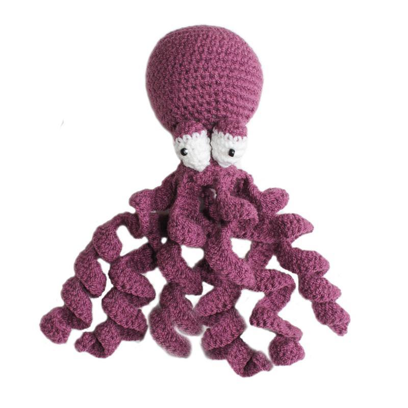 Knit Rattle Octopus - Silk Road Bazaar