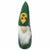 Christmas Ornament: Gnome, Green - Global Groove (H)