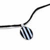 Pendant, Alabalone and Black Stripe