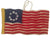 Felt Colonial American Flag Ornament - Silk Road Bazaar (O)