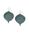 Devika Bodhi Leaf Earrings - Matr Boomie (Jewelry)
