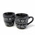 Encantada Handmade Pottery Set of Two Mugs, Ink