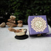 "Mini Meditation Bowl Box: 2"" Crown Chakra - DZI (Meditation)"