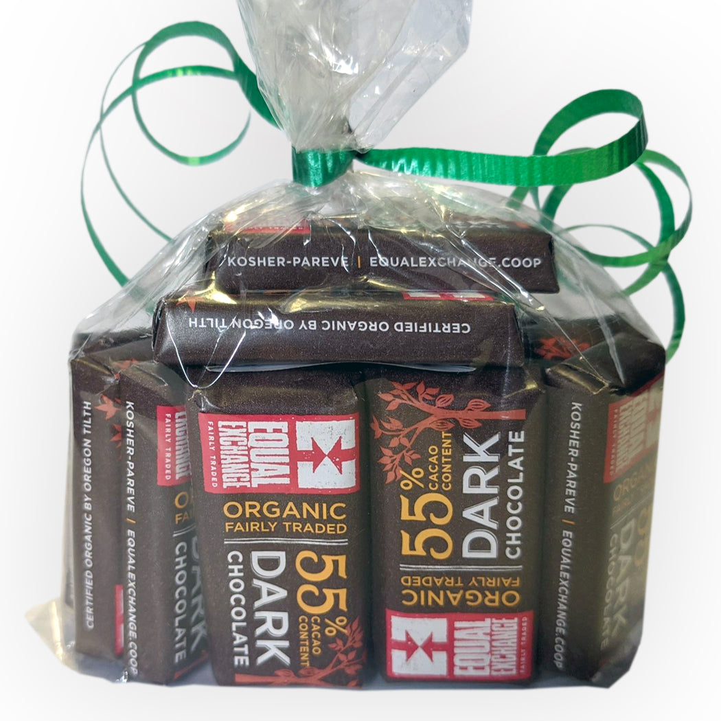 Organic Dark Chocolate Minis- Equal Exchange - Bag of 20