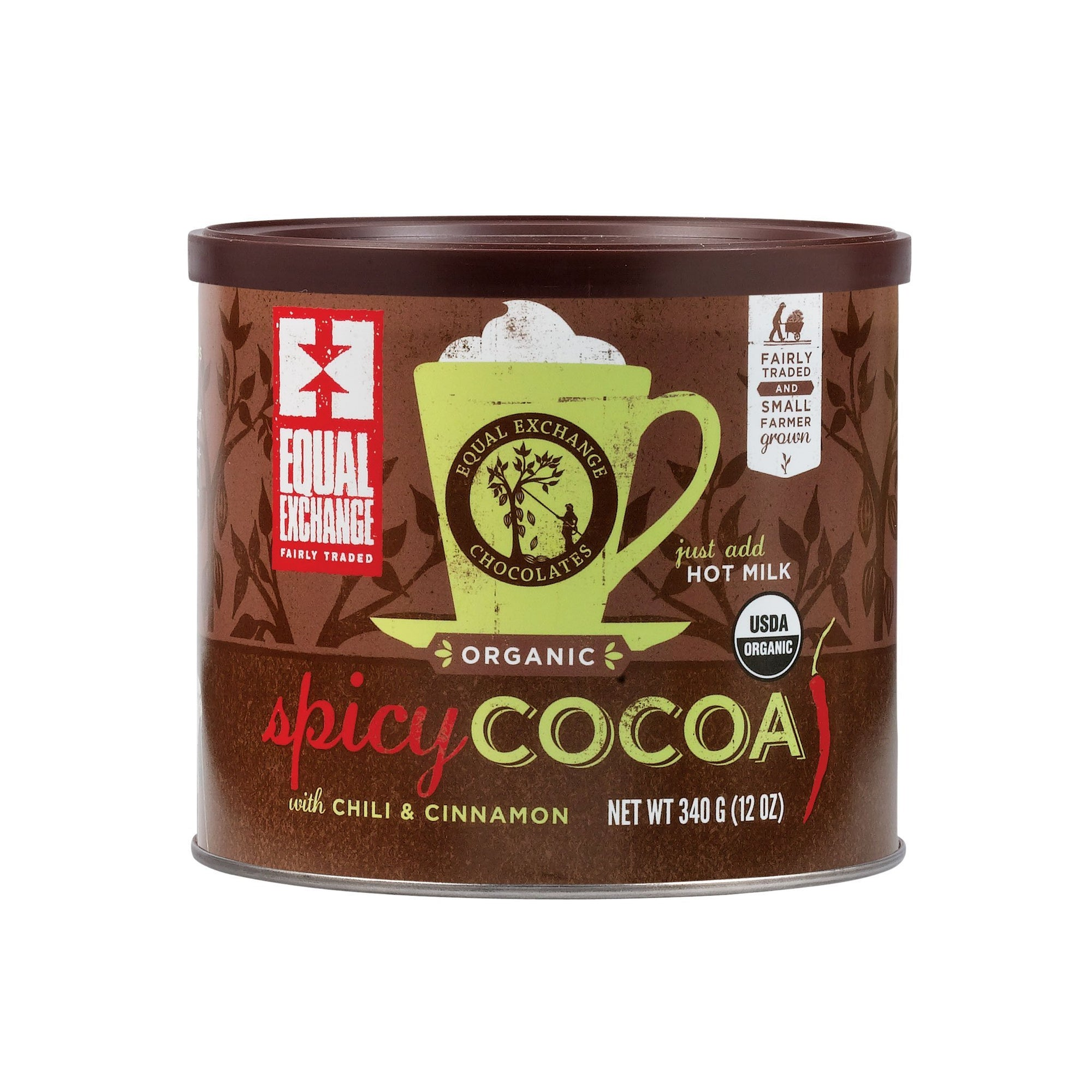 Organic Spicy Hot Cocoa Mix - Equal Exchange - 12 oz