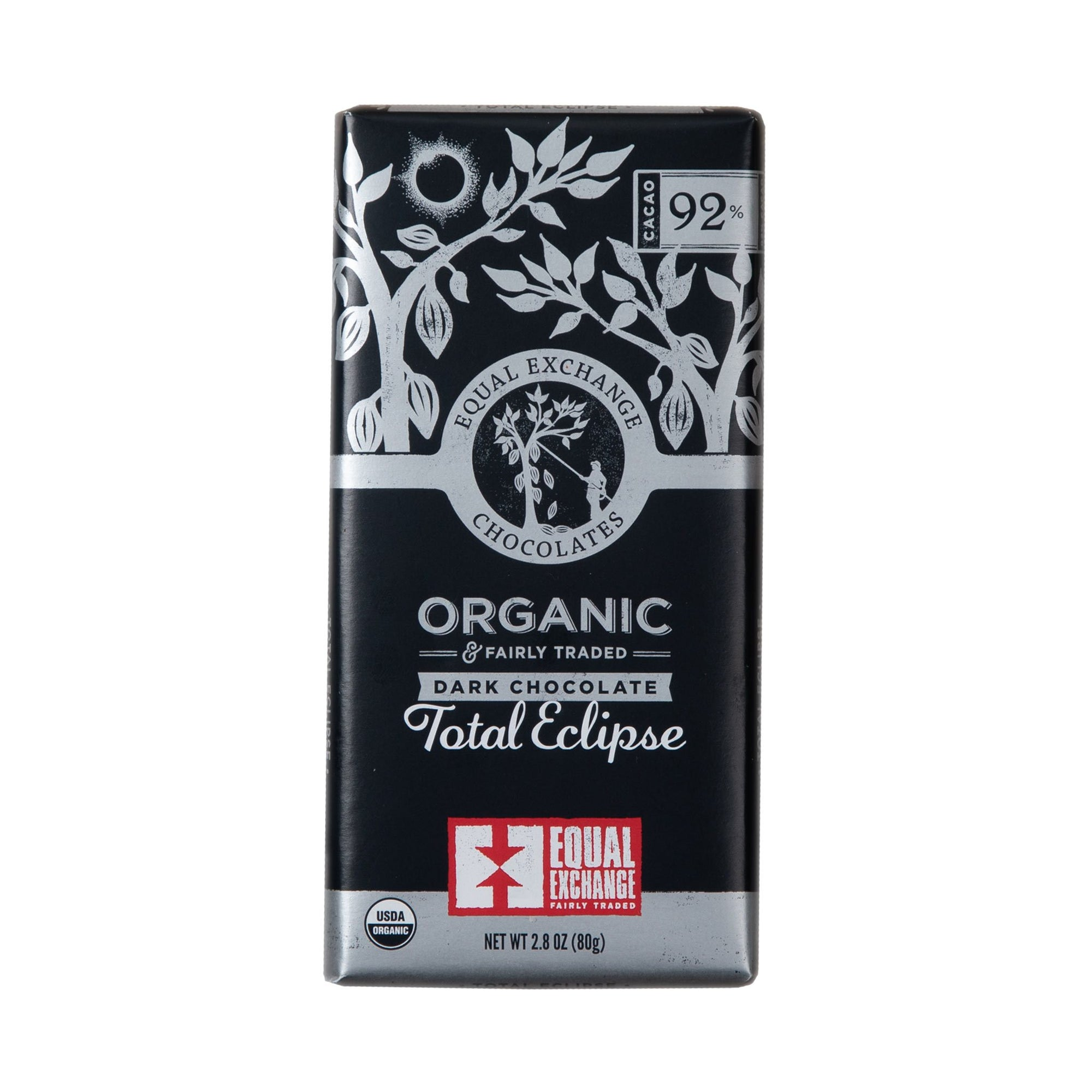 Total Eclipse Organic Extra Dark Chocolate - Equal Exchange - 2.8 oz