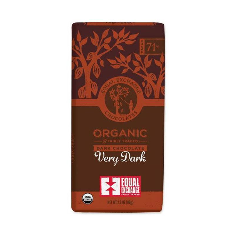 Very Dark Organic Chocolate - Equal Exchange - 2.8 oz